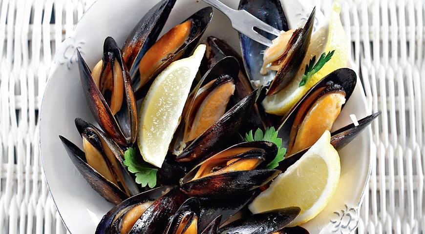 Мидии в рыбной диете
