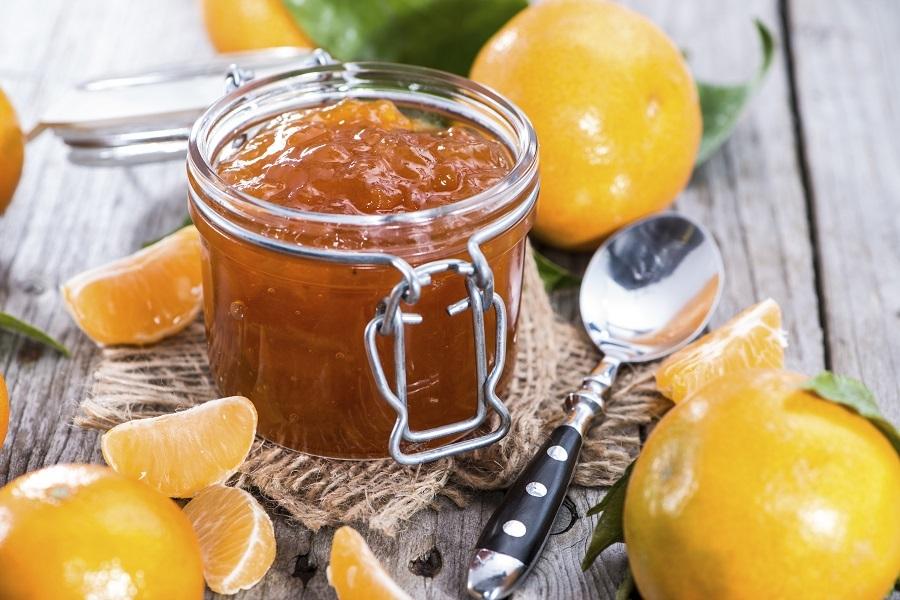 Апельсиновый джем без сахара