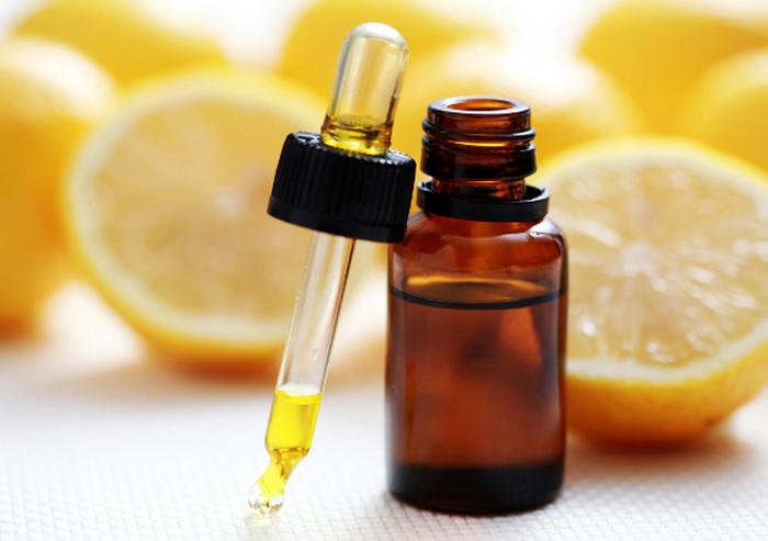 Эфирное масло лимона для осветления волос