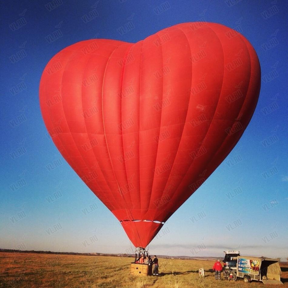 Полет на воздушном шаре - сказочный подарок для девушки