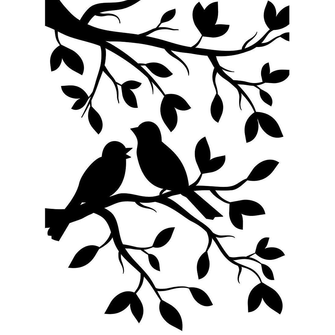 птички на ветке картинки для вырезания ещё
