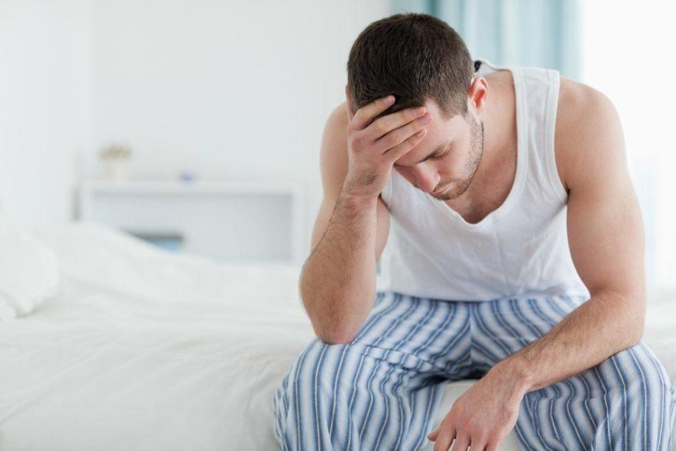 При мужском недуге