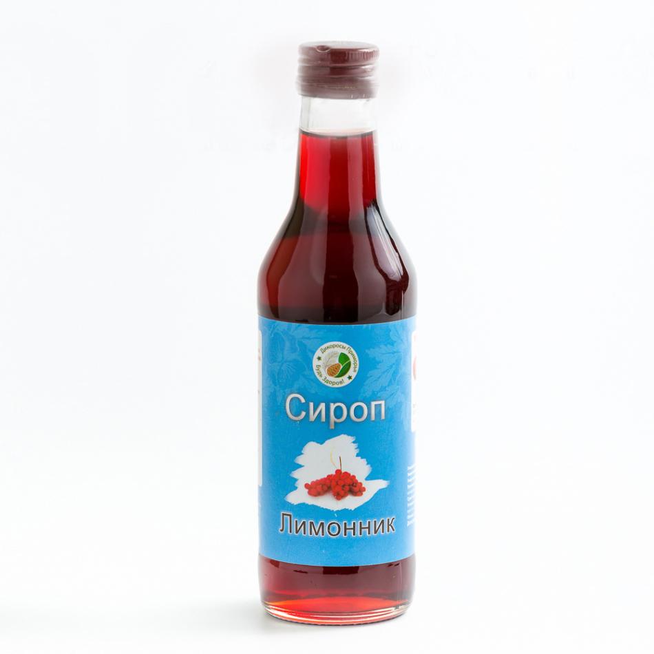 Бутылка сиропа китайского лимонника