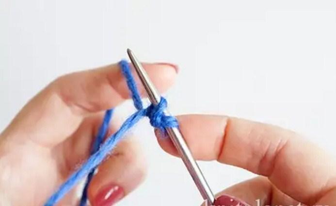 licevaya-petlya Итальянский набор петель спицами: видео, как набрать, способы, эластичный, для резинки 1х1, схема