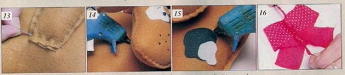 shenok-iz-fetra-shag-4 Как сшить игрушку мишку своими руками MiR Handmade