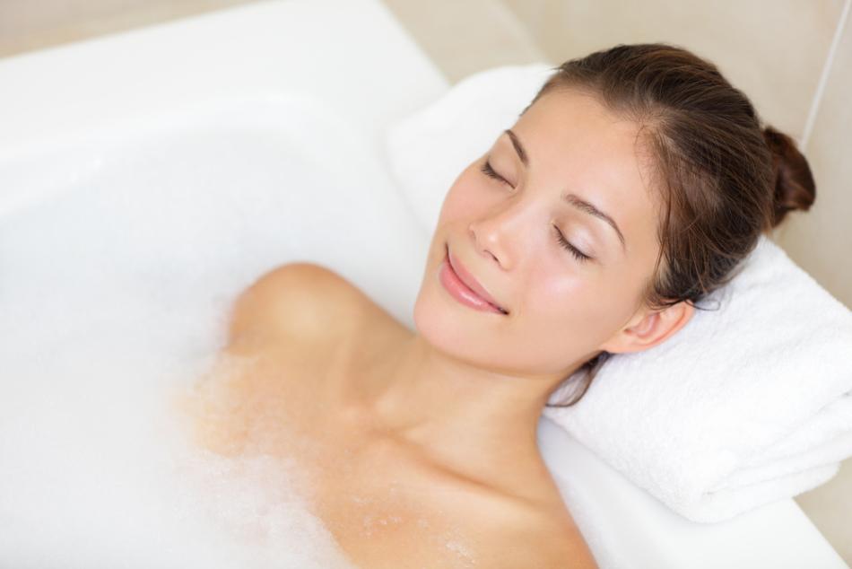 В ванне с пеной не прочь понежиться и взрослые, и дети