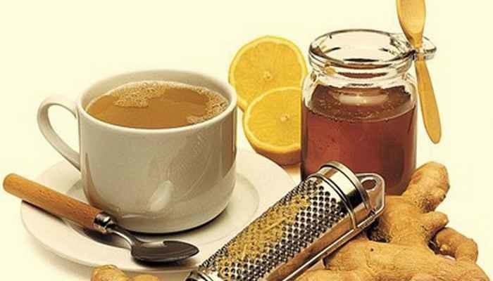 Смесь из лимона, имбиря и меда поможет снизить вес.