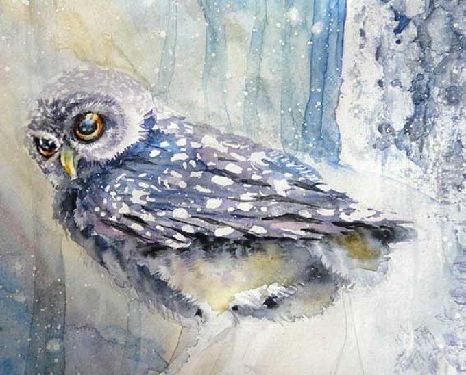 6add955ffc3fd2d0d3abab19d54de851 Как рисовать сову карандашом поэтапно для начинающих и детей? Как рисовать по клеточкам сову, красками?