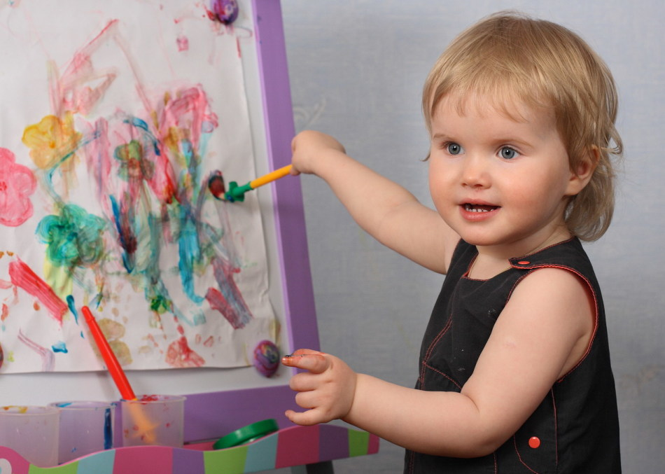 Занятия творчеством с ребенком