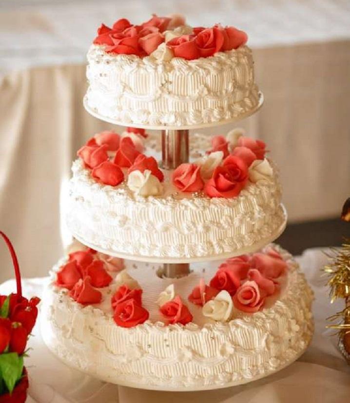 открытки картинки свадебных тортов без мастики римский