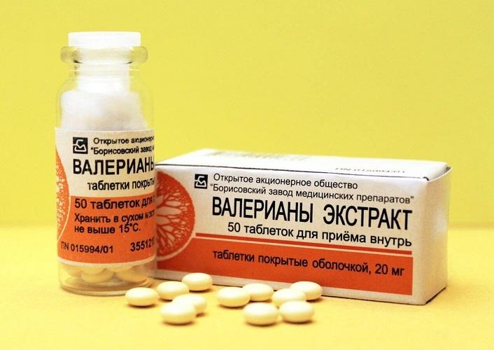 Таблетки на основе валерианы