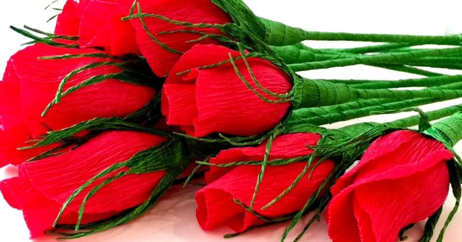6cde207d9d110c31f5034ca3b68ed182 Как сделать розу из бумаги своими руками
