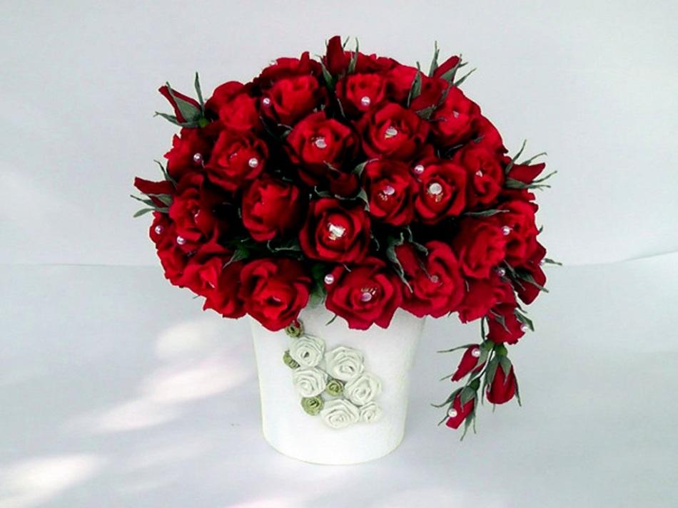 6d26a369af29442037d39242edbf104e Как сделать розу из бумаги своими руками