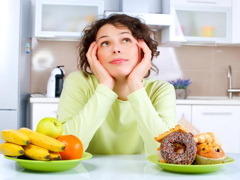 Эффективна та диета, в которой отсутствует жирная, калорийная и сладкая пища