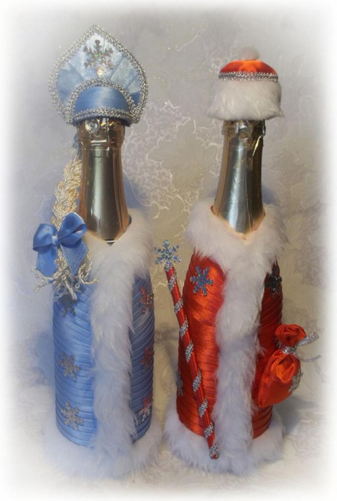 6d9867fa23ba1cedc171c329856a17b0 Декор бутылки на праздник в день рождение малыша
