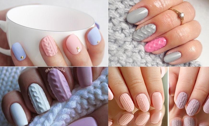 Прикольные рисунки на ногтях фото цветной