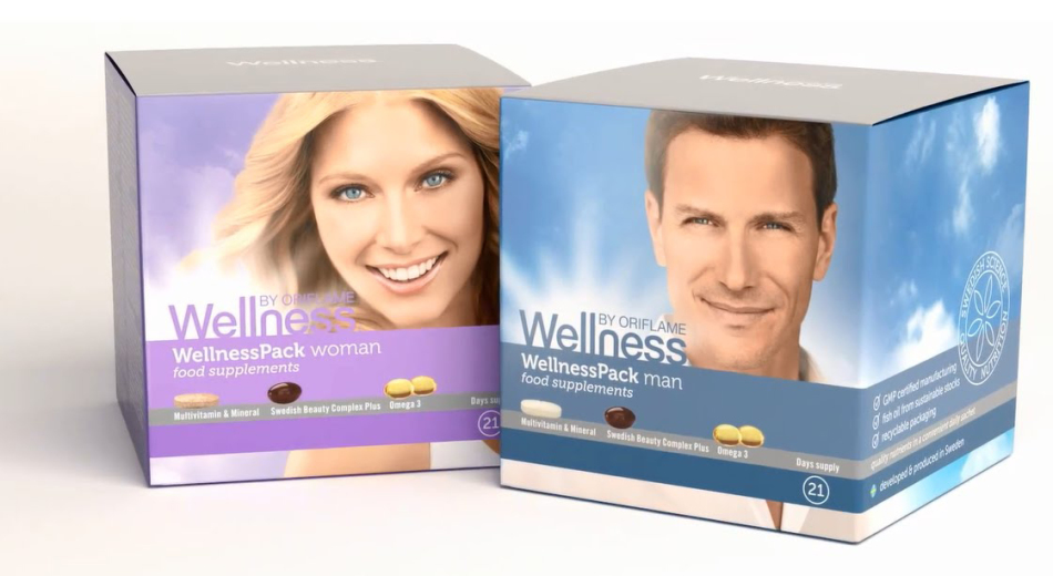 В состав нутрикомплекса wellness pack входят:
