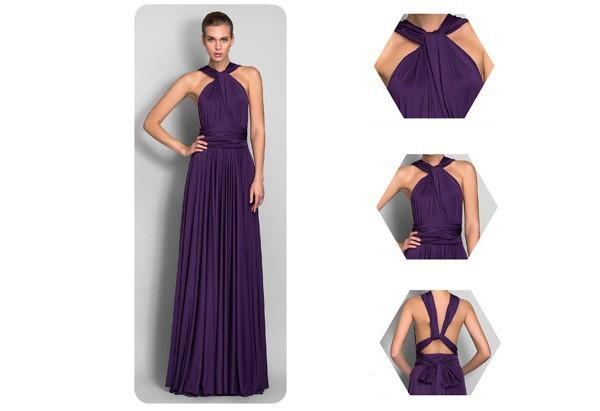 kak-zavyazivat-plate-transformer---sarafan Платье трансформер: варианты вечерних платьев. Как сшить платье со съемной юбкой своими руками?