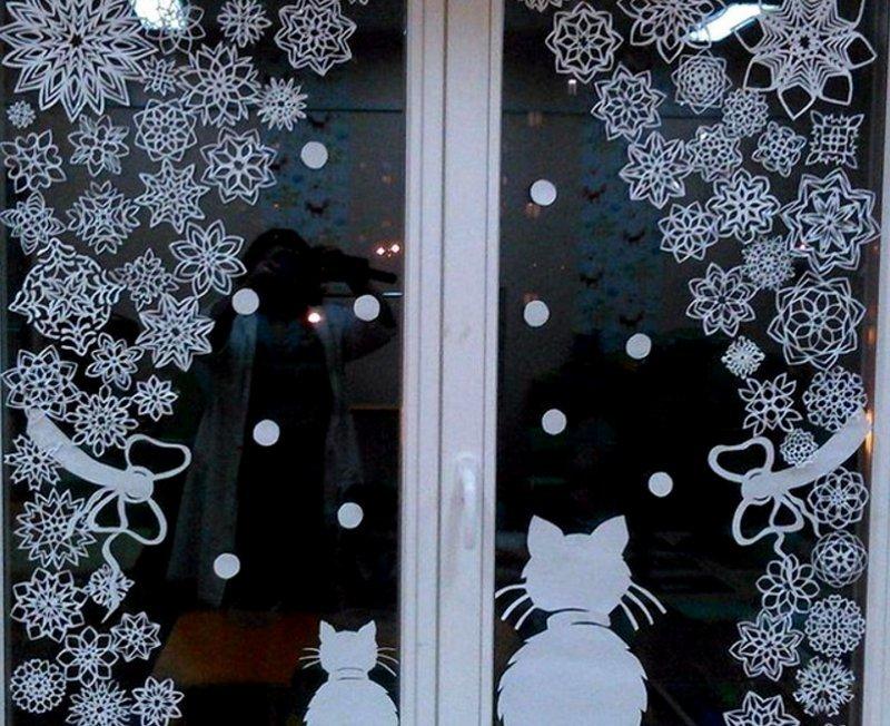 мудрости красивые картинки для нового года на окна решением
