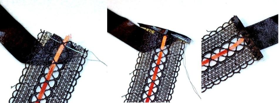 kak-sdelat-kruzhevnoi-choker Браслет из ленточек своими руками: схемы с фото и видео