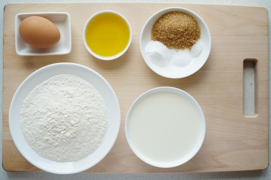 Набор ингредиентов для блюда