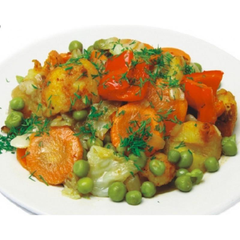 Рагу из замороженных овощей с картофелем