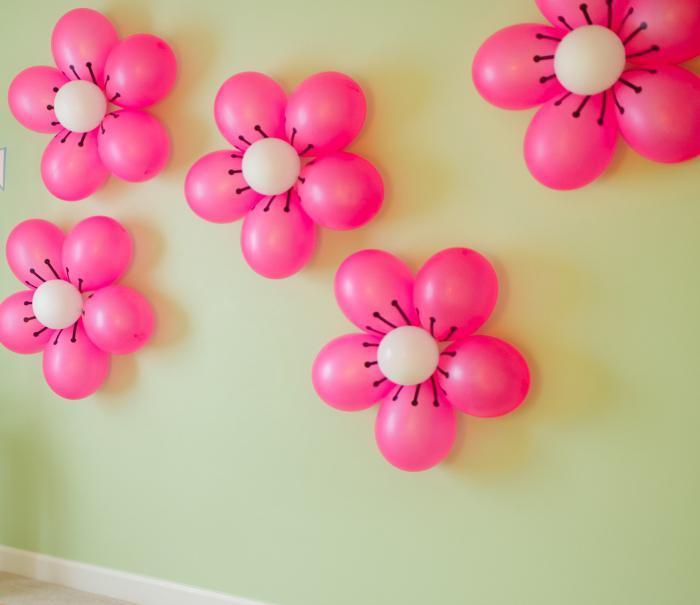 Аэродизайн цветов