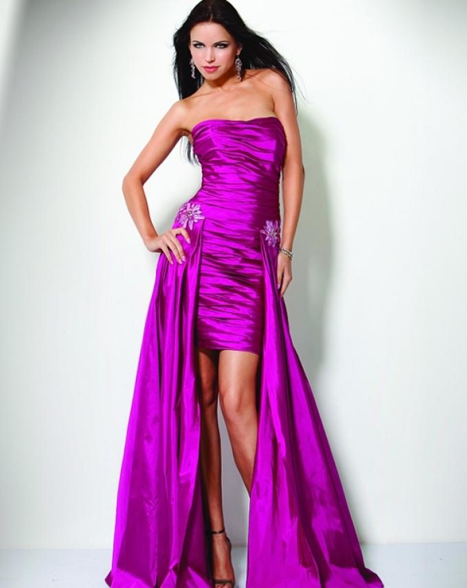 yarkie-vechernie-platya-transformeri Платье трансформер: варианты вечерних платьев. Как сшить платье со съемной юбкой своими руками?