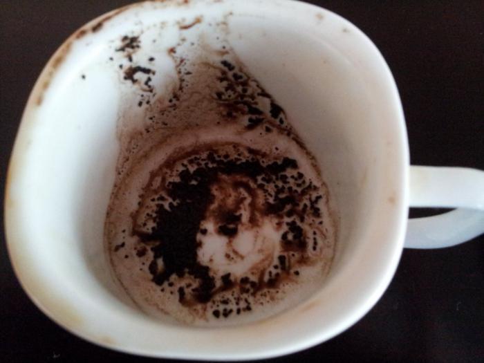 Лицо в кофейной гуще