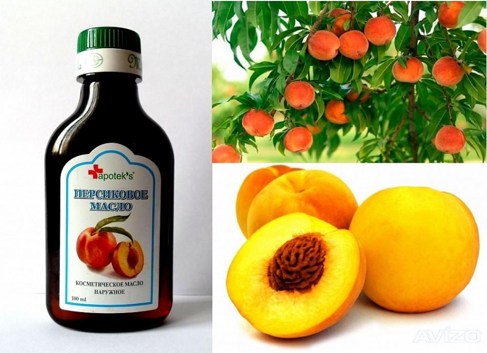 Персиковое масло очень полезно для ресниц