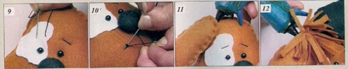 shenok-iz-fetra-shag-3 Как сшить игрушку мишку своими руками MiR Handmade