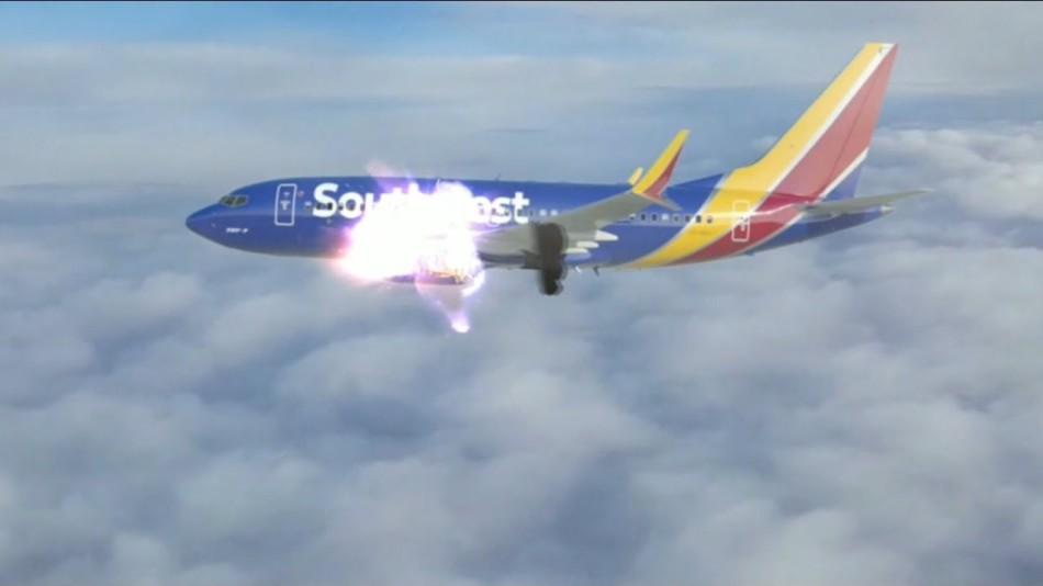 Взорвавшийся самолет во сне