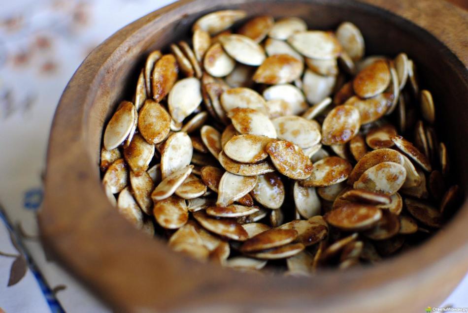 Рекомендации по жарке семечек тыквы с солью