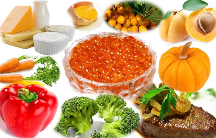 Натуральные источники витамина а