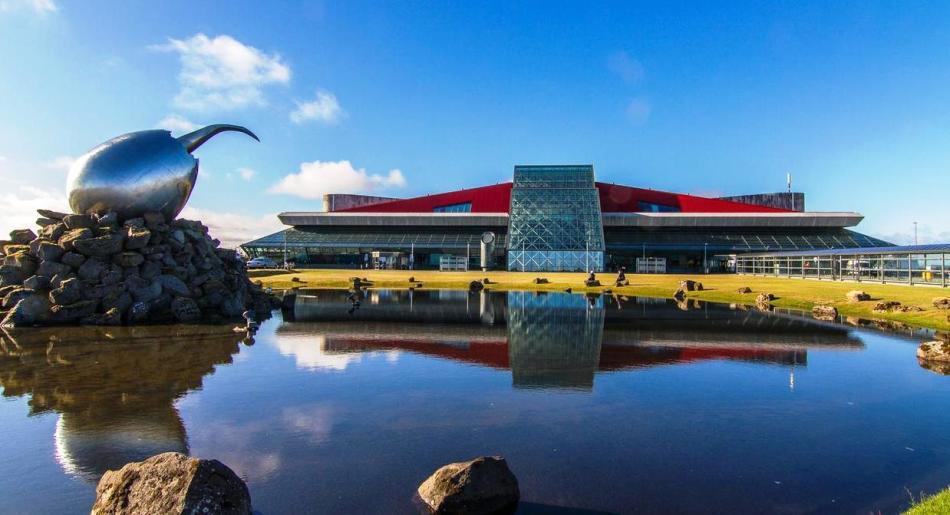 Кеблавик - единственный международный аэропорт исландии