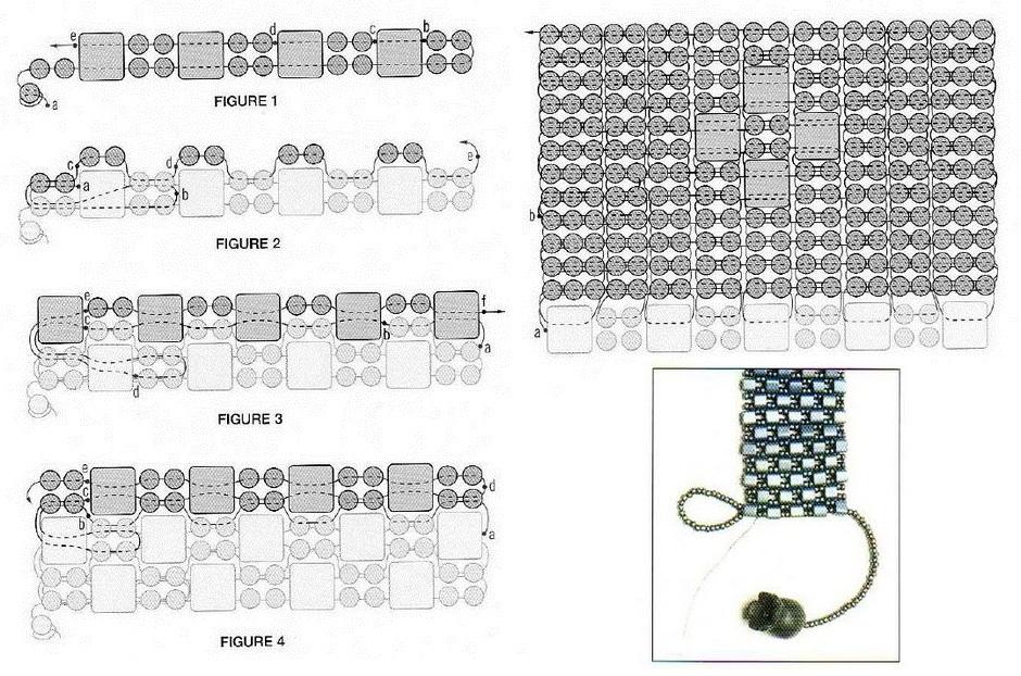 71a28b66e783c49a499d77cc9347a5ed Как сделать браслет из бисера для начинающих