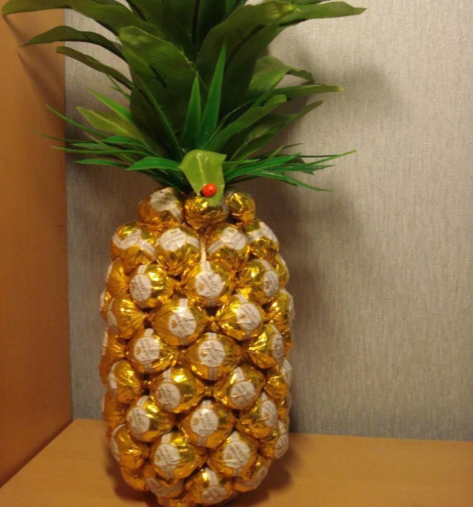 поделки из ананаса своими руками фото