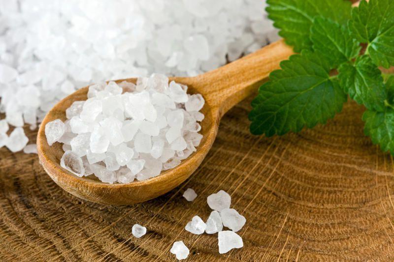 Морская соль для очищения организма