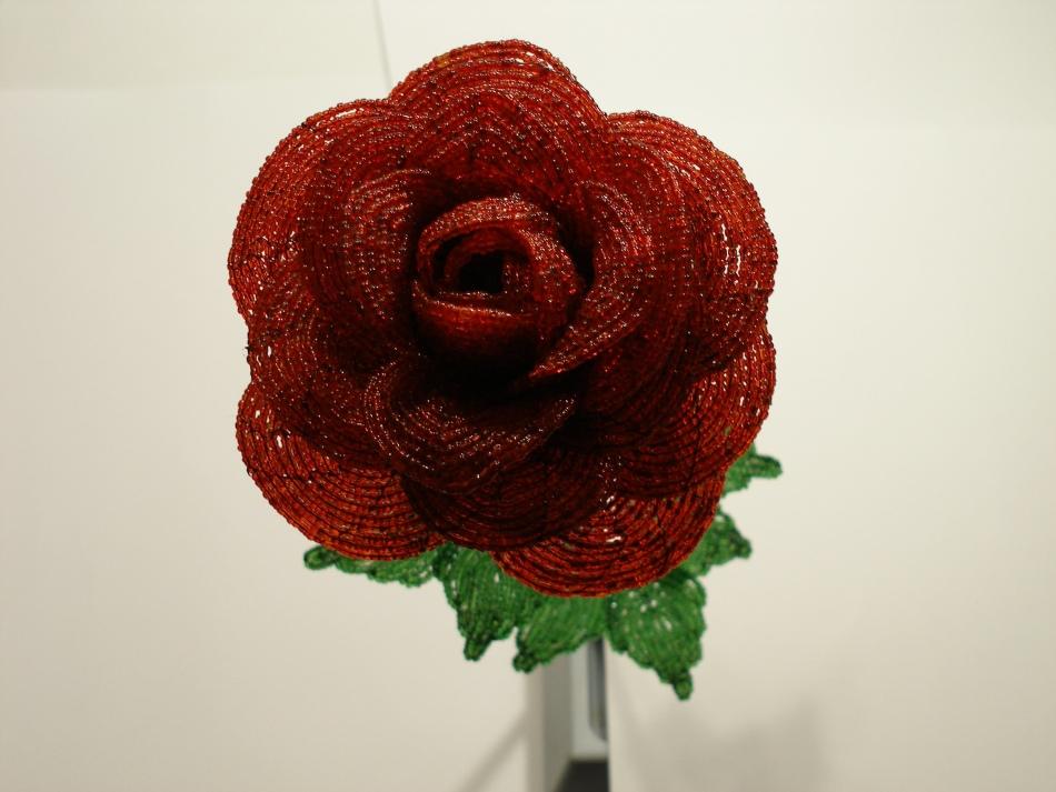 bolshaya-roza Как сделать своими руками цветы из бисера по схемам с видео и фото