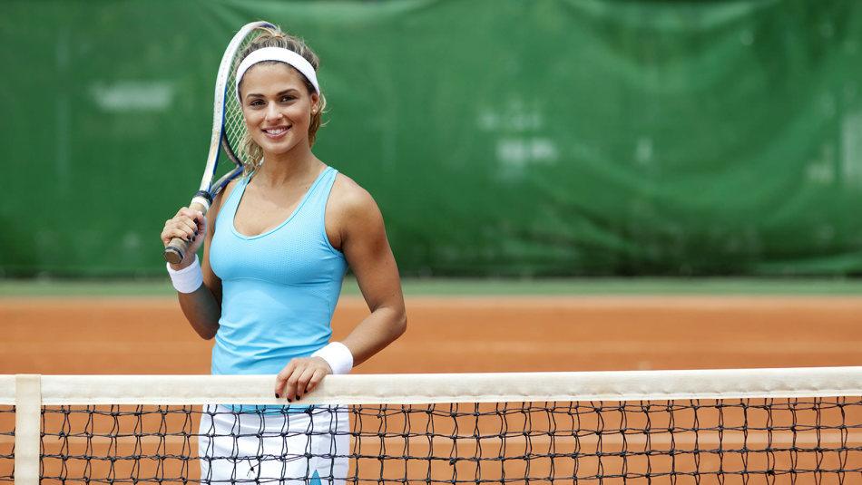 Теннис способствует сжиганию каллорий