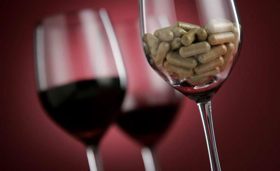 Лекарства не совместимы с алкоголем