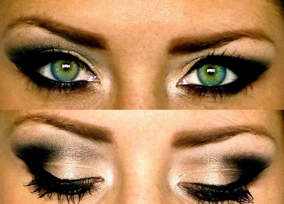 74eb57c5e900381b9a6380a0ba41cb79 Макияж Смоки Айс: техника. Смоки Айс для карих, зеленых, голубых и серых глаз, для глаз с нависшим веком