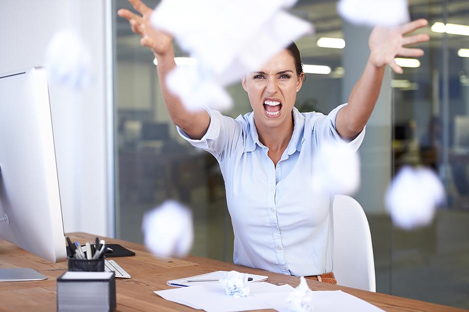 Гнев на работе