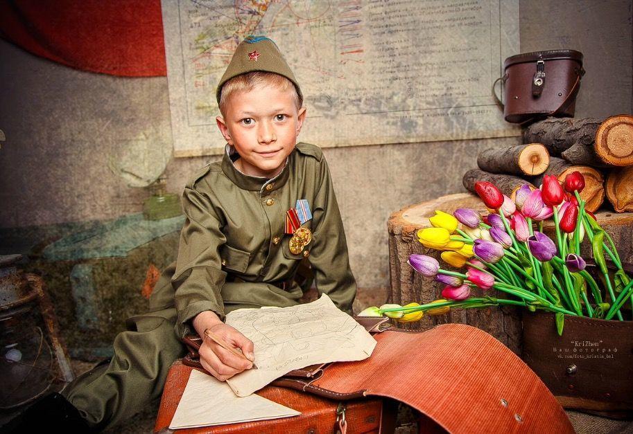 идеи для фотосессии день победы переводе