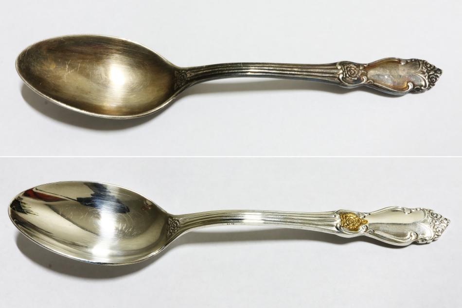 Как почистить ювелирное и столовое серебро от черноты в домашних ... 47caf94c995