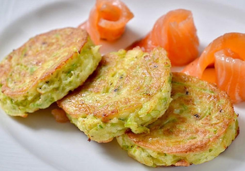 Оладьи из овощей