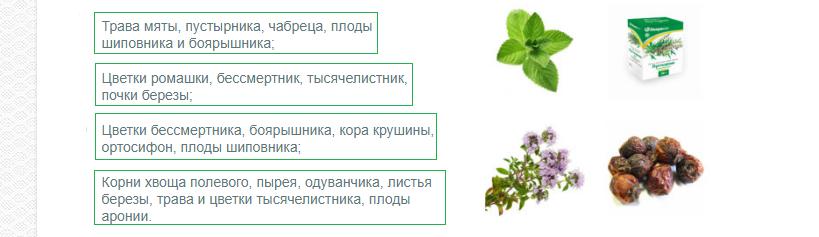 Травы от холестерина: сборы