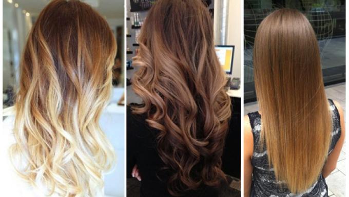 3 варианта омбре для разных оттенков русых волос