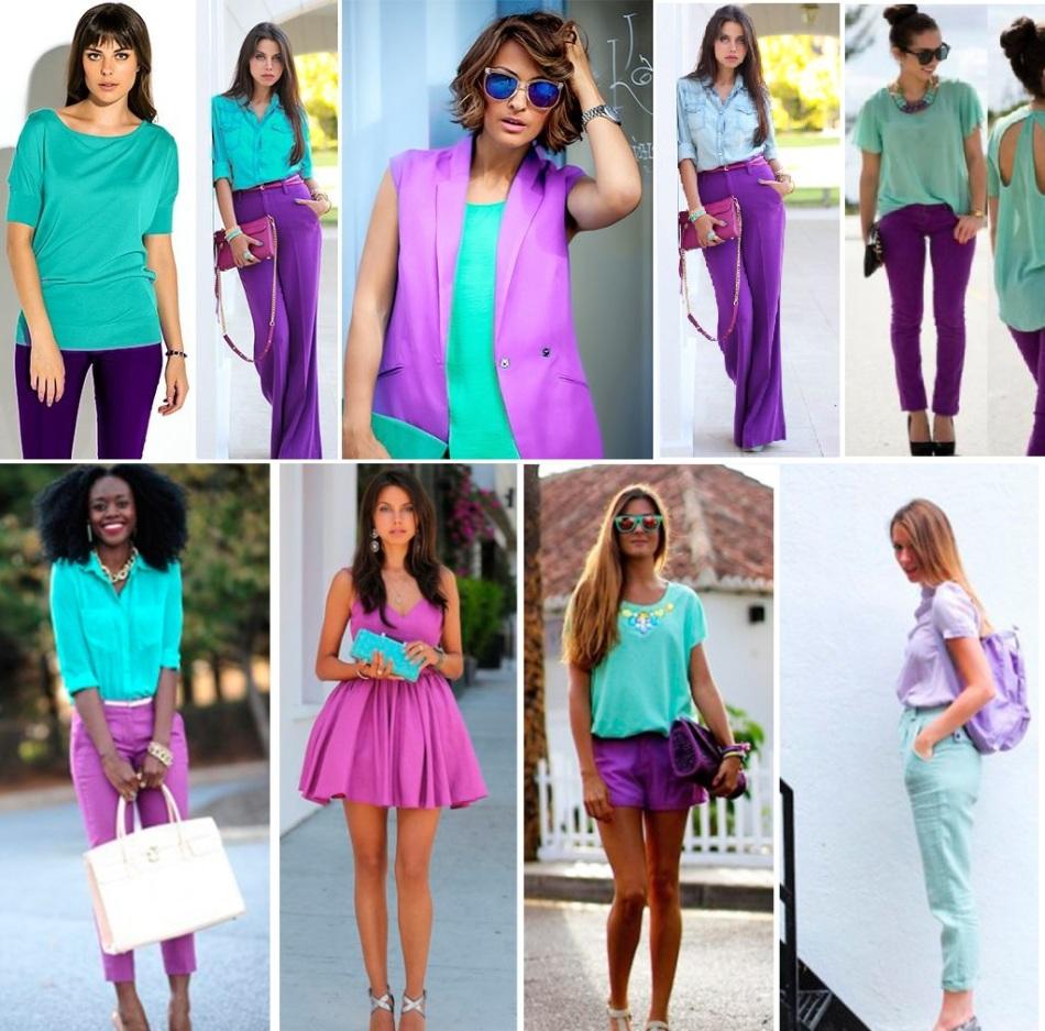 с каким цветом сочетается лиловый цвет в одежде фото ядовитых опасных