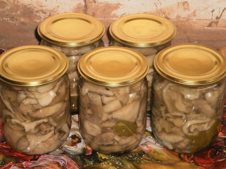 рецепт маринада для груздей